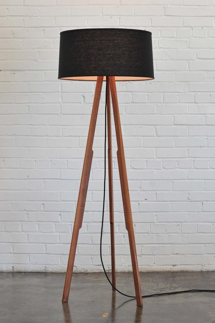 Modern Floor Lamp (black/black). $595.00, via Etsy. awwwwww