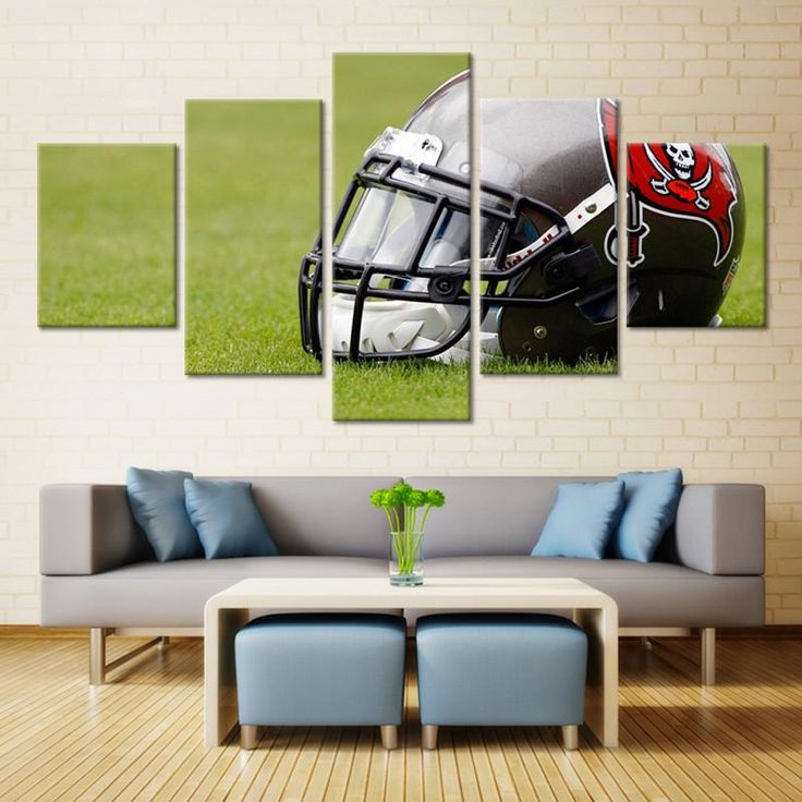 Tampa Bay Buccaneers Helmet Wall Art