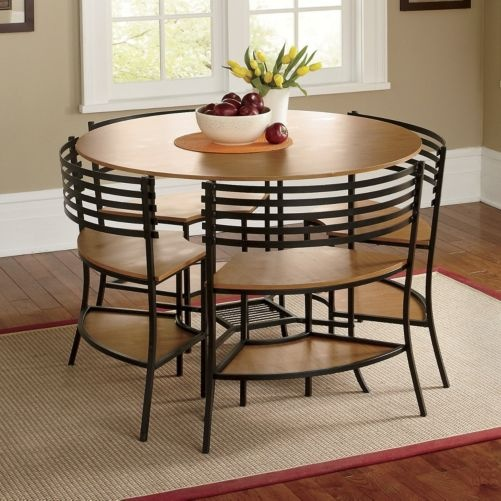 Smart Circle 5 Piece Table And Chairs Set From Seventh
