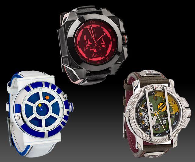 Designer Star Wars Watches | DudeIWantThat.com