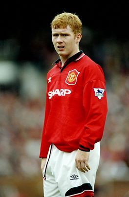 On this day in 1994, Paul Scholes made his first team debut, scoring both goals as United overcame Port Vale in the Football League Cup.