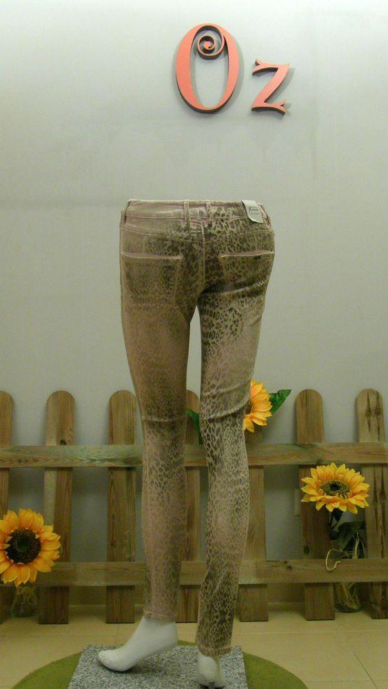 Pantalon mujer animal print dorado Guess by Marciano -Nuevo y Original-  Estamos de Rebajas comprueba los precios finales en www.ozoutlet.es/ebay