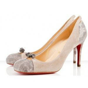 Christian Louboutin Karung and Suede No.1110367GY6G