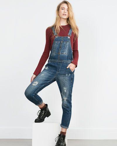 1000 ideas about salopette jean femme sur pinterest salopettes pour femmes combinaison jean. Black Bedroom Furniture Sets. Home Design Ideas