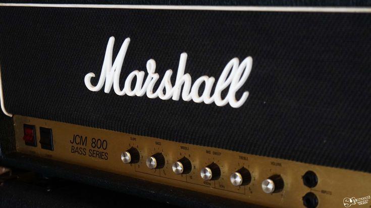 Marshall JCM 800 Bass Series model 1992   1980s