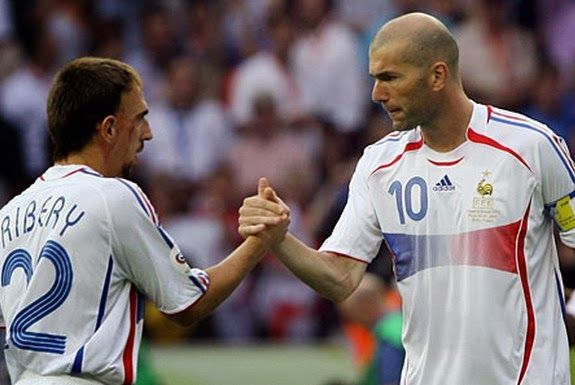 Zinedine Zidane tried to sign Franck Ribéry for Real Madrid