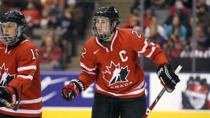 Canada names Hayley Wickenheiser as Olympic flag bearer in Sochi - See more at: http://www.nbcolympics.com/news/canada-names-hayley-wickenheiser-olympic-flag-bearer-sochi#sthash.305bwWsN.dpuf