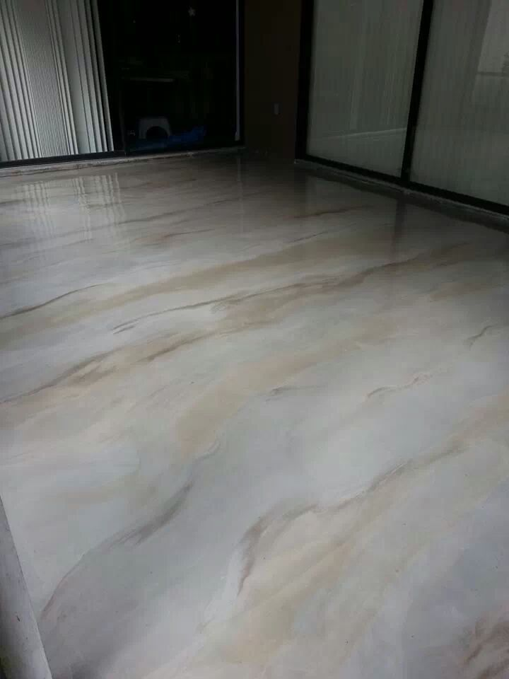 80 best metallic epoxy flooring images on pinterest for Lanai flooring options