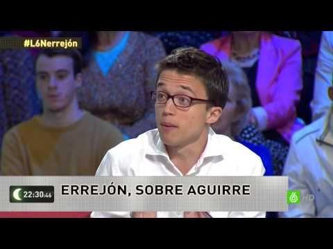 Íñigo Errejón en La Sexta Noche el 30 de Mayo de 2015 - YouTube