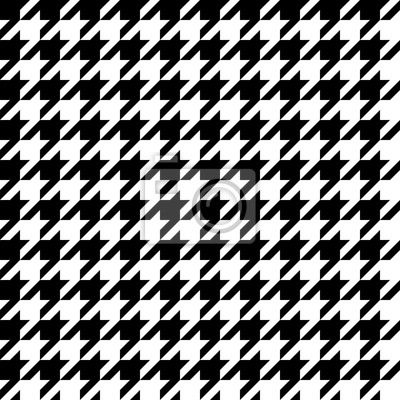 """Stickers """"clothes, repeating, dogs - houndstooth pattern"""" ✓ Easy Installation ✓ 365 Days Money Back Guarantee ✓ Browse other patterns from this collection!"""