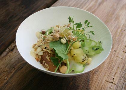 Recept: Couscoussalade met gele kiwi - Sante.nl
