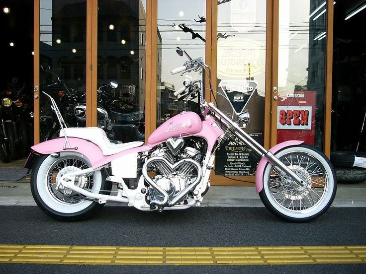 if i was a chick....平和モーターサイクル - HEIWA MOTORCYCLE - | STEED400 (HONDA)