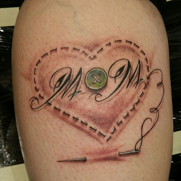 Sewing tattoo for Mom