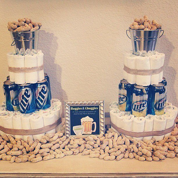 Huggies and Chuggies: 20 Desserts For Your Associate's Man Bathe.  See more at the picture link
