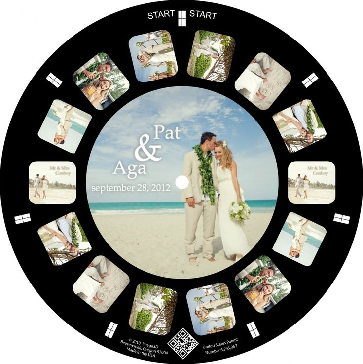 This could be the most amazing #elopement announcement ever: Send out old-fashioned Viewmasters with a custom picture disk! (Super Bonus if you use a 3D camera to take the pics!)