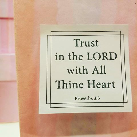 Trust In The Lord With All Thine Heart Proverbs 3:5...  Sticky Note From the Scriptures of Faith pack by Vision Words.  Verse of the Day, Sermon, Scripture, Bible Journaling, Bible verse, Prayer, Faith, Ministry, God's Word, Memory Verse, Christian Bookstore, Sticky Notes, Post It