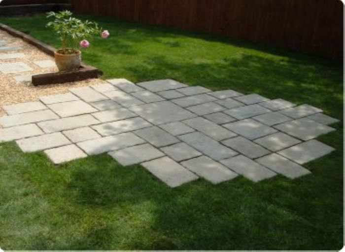 17 best images about back yard on pinterest hosta for Paver installation adelaide