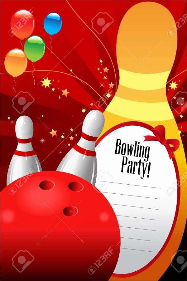 50 Awesome Bowling Party Invitation Template Free In 2020 Party Invite Template Bowling Party Invitations Free Party Invitations
