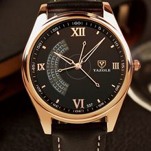 2016 Yazole 337 new watch Three seconds needle male Luxury brands high-end fashion elite business quartz men Watches(China (Mainland))
