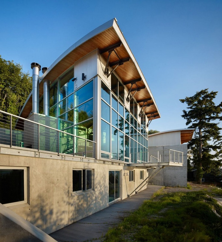 the west seattle residence located in seattle washington usa designed by lawrence architecture - Seattle Home Design