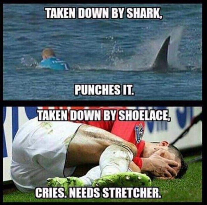 mick fanning meme   Mick Fanning's South African Shark Encounter: The Memes & Jokes ...