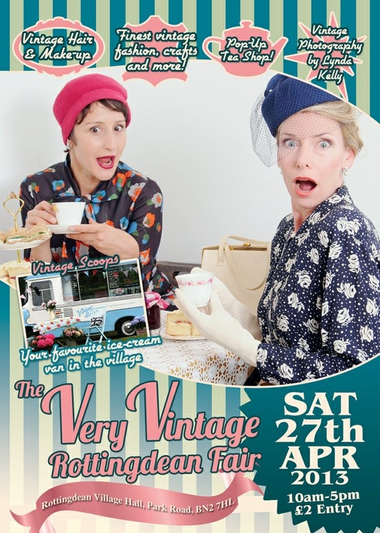 The Very Vintage Fair Rottingdean, client Elif Kose. Photography by Lynda Kelly at Butterfly Portraits.
