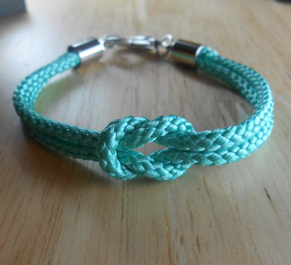 Nautical Sailor's Knot Bracelet - Para-Cord Love Knot - KNOTICAL KNOTION