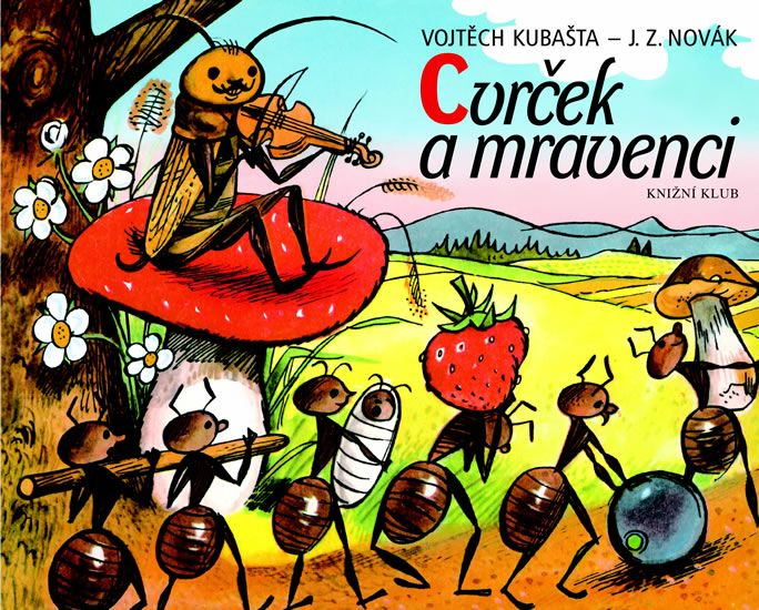 Kniha Cvrček a mravenci - 12. vydání, v EMG 1. vydání | bux.cz