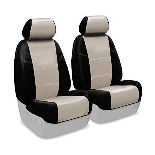 Coverking Custom Fit Seat Cover for Select Kia Optima Models  Premium Leatherette Cashmere with Black Sides >>> You can find out more details at the link of the image.