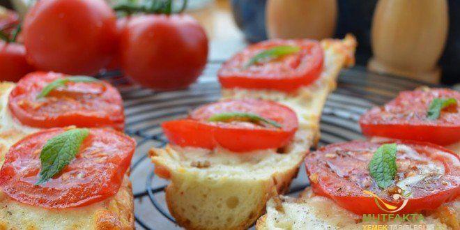 Domatesli Kızarmış Ekmek Tarifi | Mutfakta Yemek Tarifleri