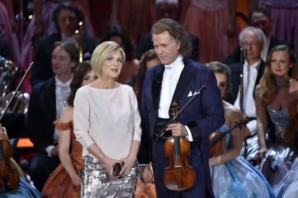 Andre Rieu Photos - Carmen Nebel and Andre Rieu during the tv show 'Heiligabend mit Carmen Nebel' on November 23, 2016 in Munich, Germany. The show will air on December 24, 2016. - Andre Rieu Photos - 3 of 343