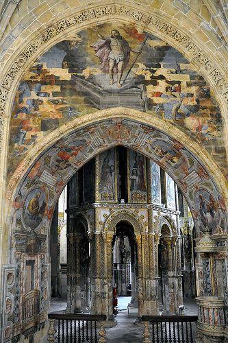 Convento de Cristo, Tomar,  interior   Portugal