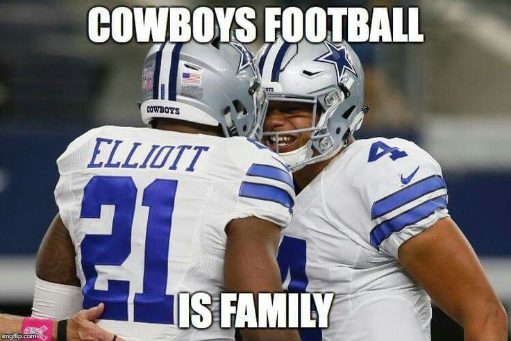 Cowboys Football Is Family!!!!
