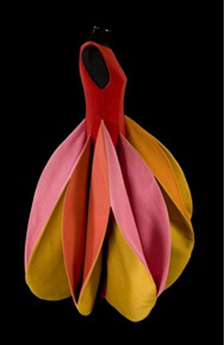 felt dress   felt meets fashion fiber art couture