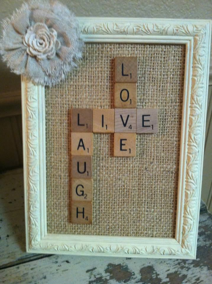 scrabble craft