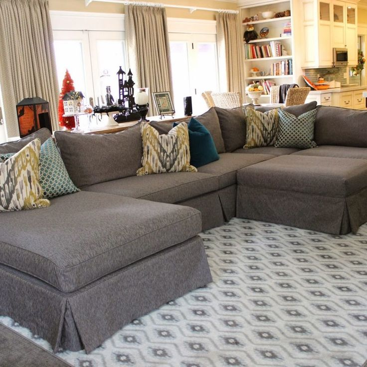 Best 25+ Large Sectional Sofa Ideas Only On Pinterest | Large Sectional,  Sectional Sofa And Family Room With Sectional