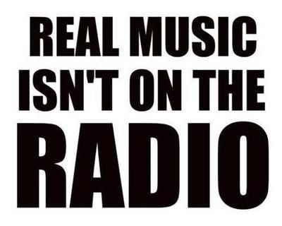 Except for KLOVE and pretty much any Christian radio lol!