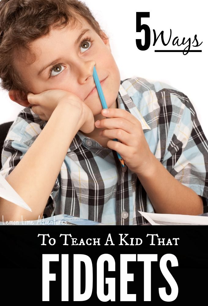 5 Simple Tips to Teach Fidgety Kids | Sooo Good! I have so many kids I can use this with!