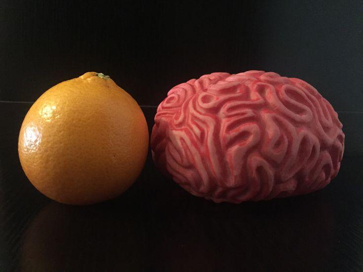 Perché Braian è #intelligente? Perché si nutre di #vitamine! www.go-digital.it #uncervelloperamico #brain #cervello #smart #orange
