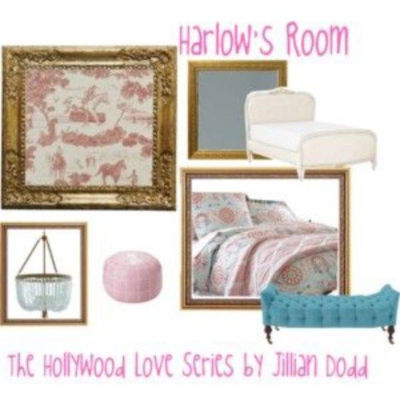 Harlow's Room from The Hollywood Love Series