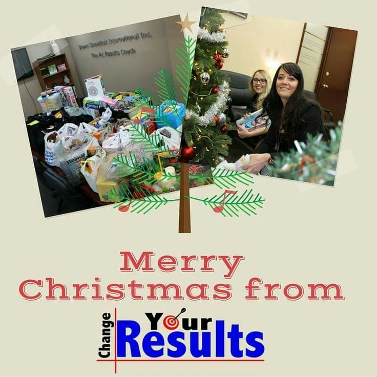 Doing our part.  From our #family to yours,  #MerryChristmas & #HappyHolidays. #ChangeYourResults