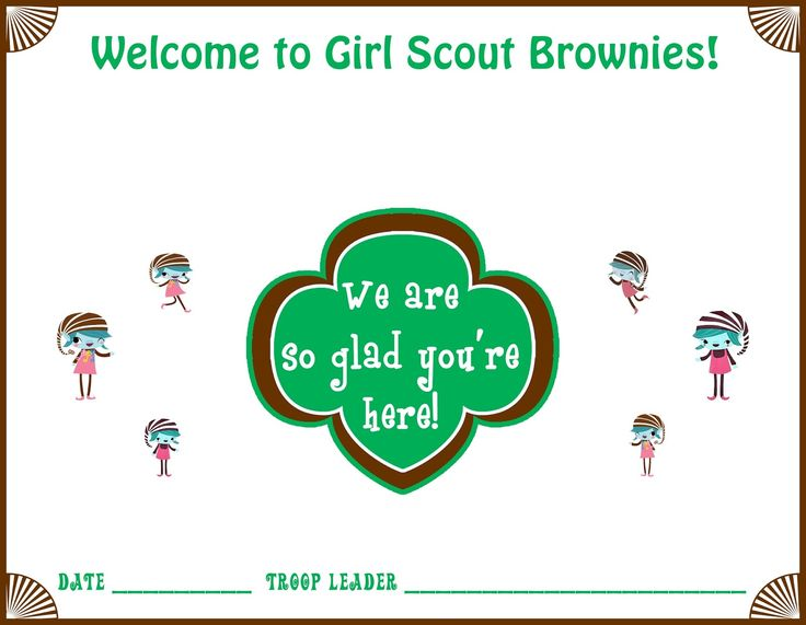 Troop Leader Mom: Getting Started with Girl Scout Daisies (and Brownies Too!): Getting Started with Brownies, Part Four -- Things to Do Before Your First Meeting