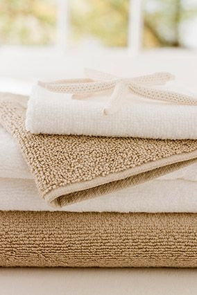 How to get the funky smell out of bath towels? The funky smell comes from using too much detergent when washing and the preset rinse cycle is not long enough to get all the soap out. Remedy? Wash with a cup or 2 of white vinegar and do not use detergent  (turns out, mold likes soap!).