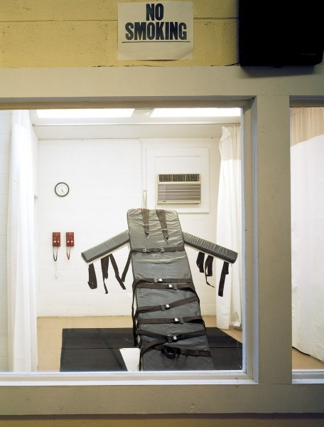 Lethal injection chair Angola Penitentiary, Louisiana