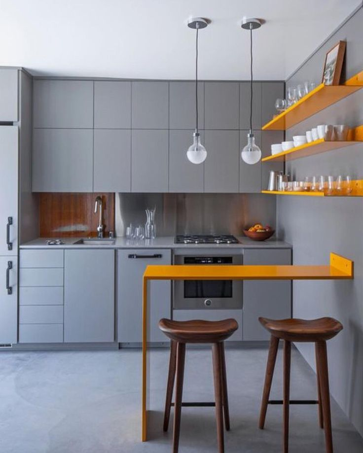 Studio Apartment Kitchen, Simple