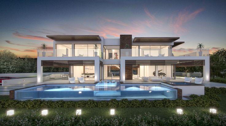 Contemporary Villa designed and developed By Nok in La Cerquilla, Marbella
