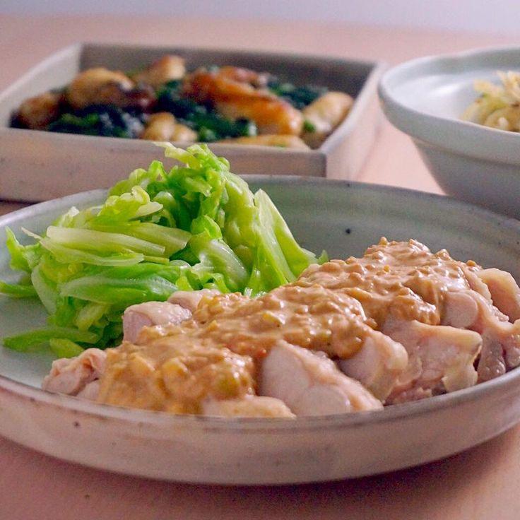 しっとり茹で鶏とゴマだれの相性抜群!棒々鶏(バンバンジー)  |  あさこ食堂