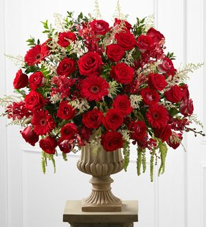 The FTD® Love & Honor™ Altar Arrangement http://www.jalexandersflorist.com/product/the-ftd-love-and-honor-altar-arrangement-2012/display