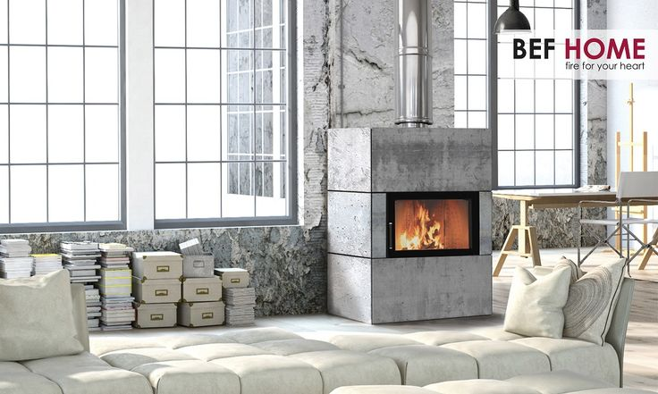 BeF Feel 6 - Krbová vložka, fireplaces