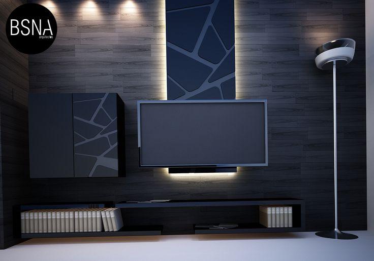 furniture design (inteiorismo) besana arquitectos. méxico. | tv, Attraktive mobel